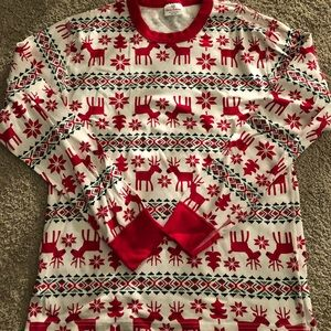 Hanna Andersson adult pajama top Dear Deer size M